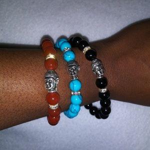 Jewelry - 3 Buddha Self Love Bracelets